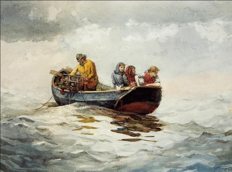 En septembre 1910 meurt Winslow Homer, peintre et aquarelliste américain. Ses oeuvres réalistes et rigoureuses sont principalement du genre ... .
