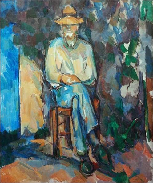 Paul Cézanne meurt le 22 septembre 1906. Sur quel portrait a-t-il donné ses derniers coups de pinceau ?