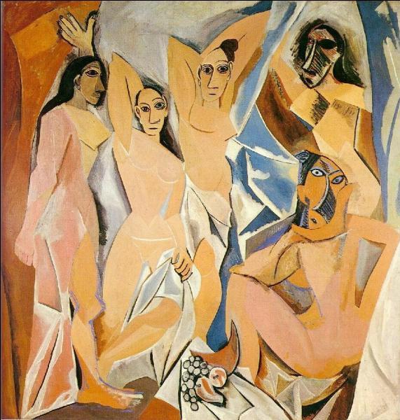 Le tableau  Les demoiselles d'Avignon  peint par Picasso en 1907 est né d'un souvenir de l'artiste découvrant des prostituées devant la porte d'une maison close de la Carrer d'Avinyo, une rue chaude de quelle ville espagnole ?