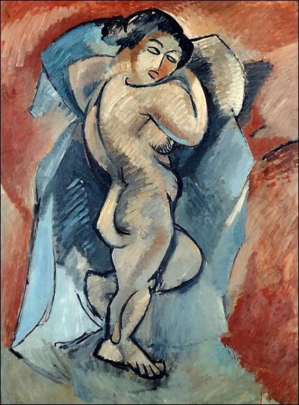 Alors âgé de 26 ans, ce peintre surprend avec ses toiles au Salon d'automne de 1908, cette évolution annonce une rupture avec le fauvisme, mouvement auquel il était affilié jusqu'alors... .