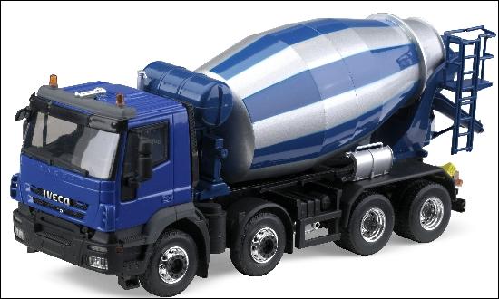 Ce camion mélangeur de mortier a le même nom qu'un jouet d'enfant. Lequel ?