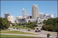Dans quel État se trouve la ville de Raleigh ?