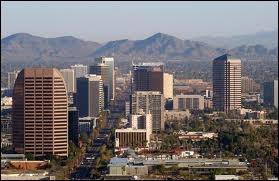 Dans quel État se trouve la ville de Phoenix ?