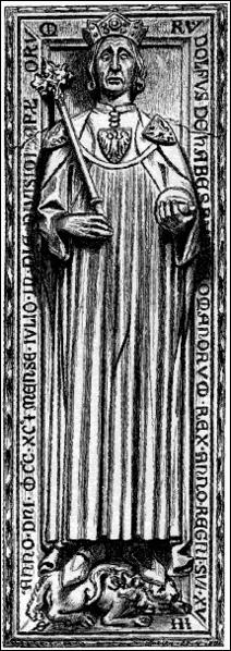 Le 1er octobre 1273, quel comte est finalement élu roi des Romains ?