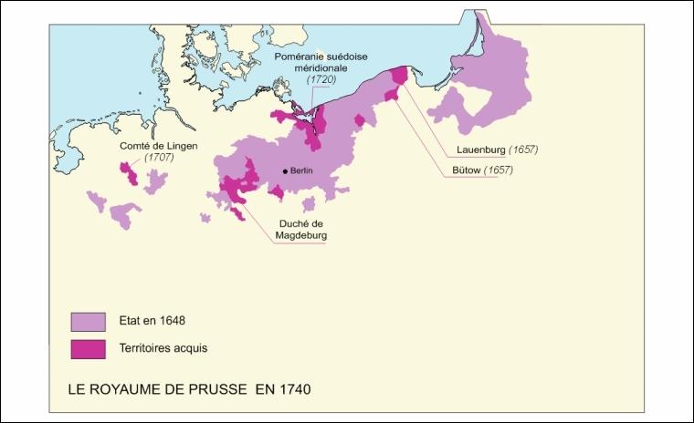 En 1701, quel duché extérieur à l'Empire est élevé en royaume par l'empereur Léopold Ier ?