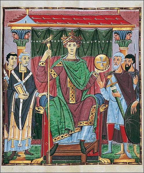Empereur de 983 à 1002, Otton III pensait avoir une vocation de missionnaire et de réformateur. Elle consista notamment en
