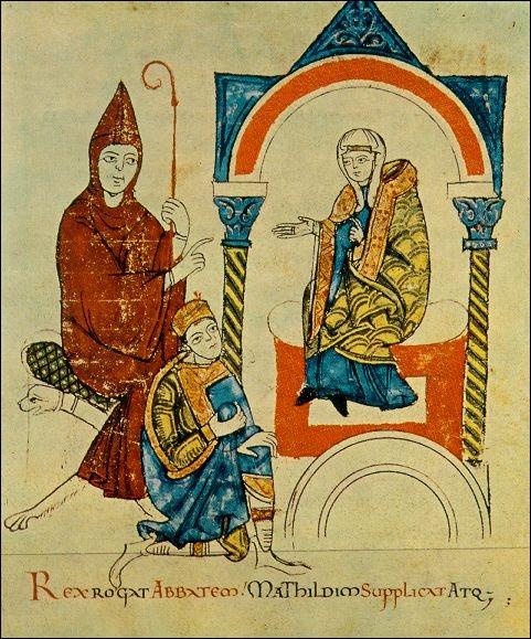 De 1075 à 1122, papes et empereurs s'affrontent. Les papes refusent désormais le partage des rôles dans la désignation et l'investiture des clercs. Cet affrontement s'appelle