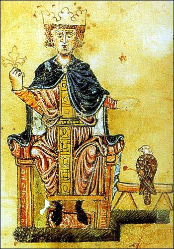A partir de 1221, l'empereur Frédéric II mit au pas une île du sud de l'Italie. Il s'agit de