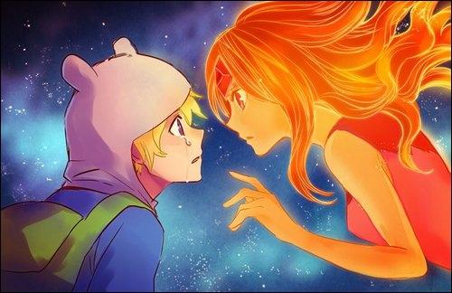Pourquoi la princesse Chewing-Gum veut à tout prix empêcher Finn d'embrasser la princesse des Flammes ?