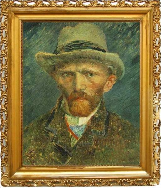 En revanche le musée ne possède qu'un seul tableau de ce grand peintre, un autoportrait réalisé en 1887 ... .