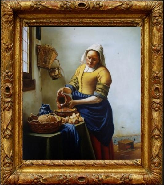 Cette oeuvre, une des plus célèbres de l'histoire de la peinture est exposée depuis 1908 dans ce musée. C'est une peinture de... .