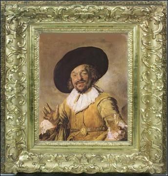 Auteur de cette toile  Le joyeux buveur , il est considéré avec Rembrandt et Johannes Vermeer, comme l'un des plus importants peintres du siècle d'or... .