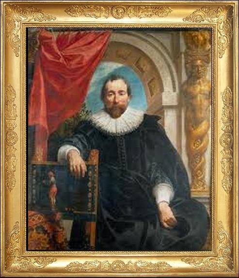 Cet autre portrait exposé de   Rogier le Witer   est une peinture de style baroque de... .