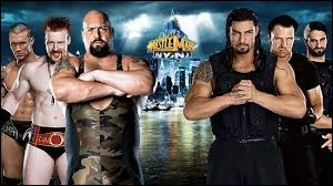 Entre The Shield et l'équipe composée de Big Show, Sheamus et Randy Orton, laquelle de ces équipes en a été vainqueur ?