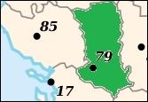 Quelle est la préfecture du département en vert ?