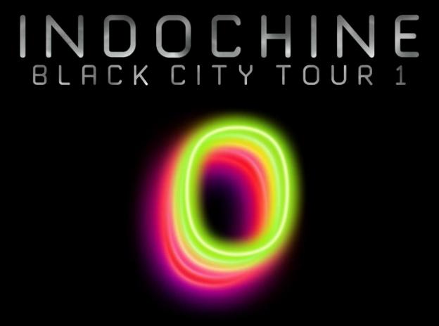 Quand a eu lieu la première tournée  Black City Tour 1  ?