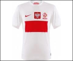A quelle sélection d'Europe appartient ce maillot de football ?
