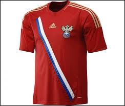 A quelle sélection d'Europe ce maillot de football appartient-il ?