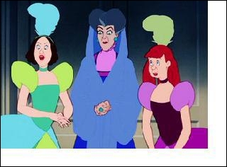 De quelle couleur est la robe d'Anastasie ?