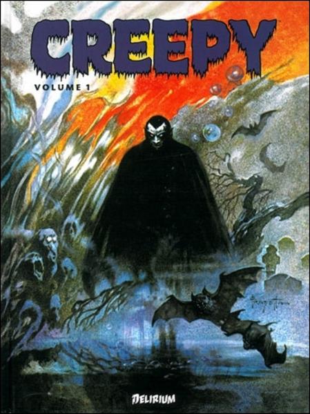 L'anthologie horrifique Creepy est sortie en 2012 accompagnée d'un autre recueil du même style qui a pour titre :