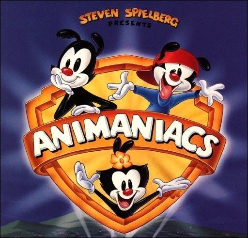Au début du générique des Animaniacs de quelle infrastructure, située à Los Angeles, sortent ces joyeux personnages ?