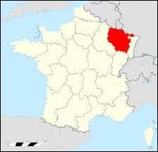 Cette région du Nord-Est de la France a pour préfecture ...