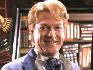 Quelles couleur est celle de Gilderoy Lockart dans Harry Potter ?
