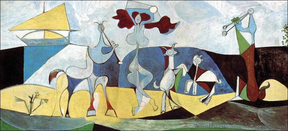Est-ce Picasso qui a peint La joie de vivre ?