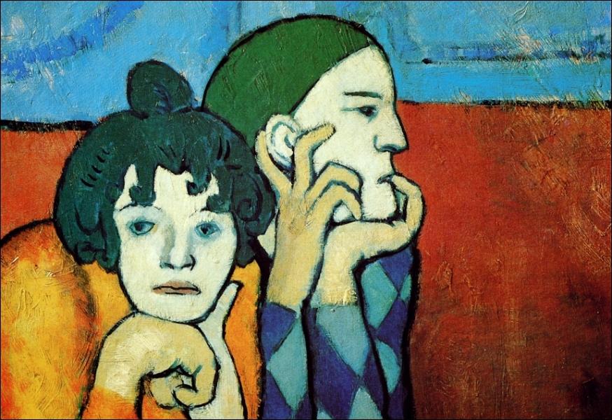 Est-ce Picasso qui a peint Arlequin et sa compagne ?