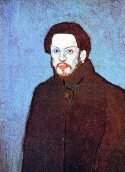 Est-ce Picasso qui a peint son autoportrait en bleu ?