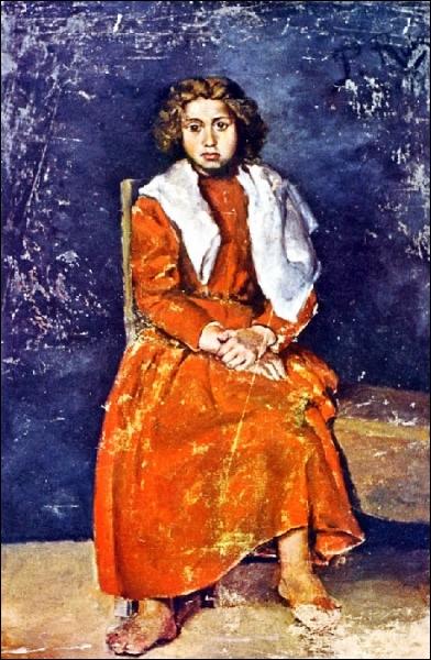 Est-ce Picasso qui a peint fillette aux pieds nus ?