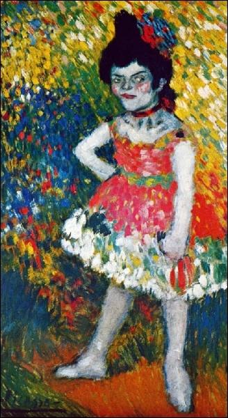 Est-ce Picasso qui a peint La chanteuse naine ?