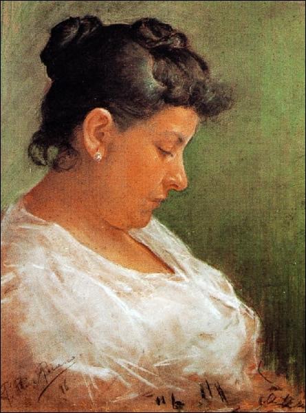 Est-ce Piasso qui a peint sa mère Maria ?