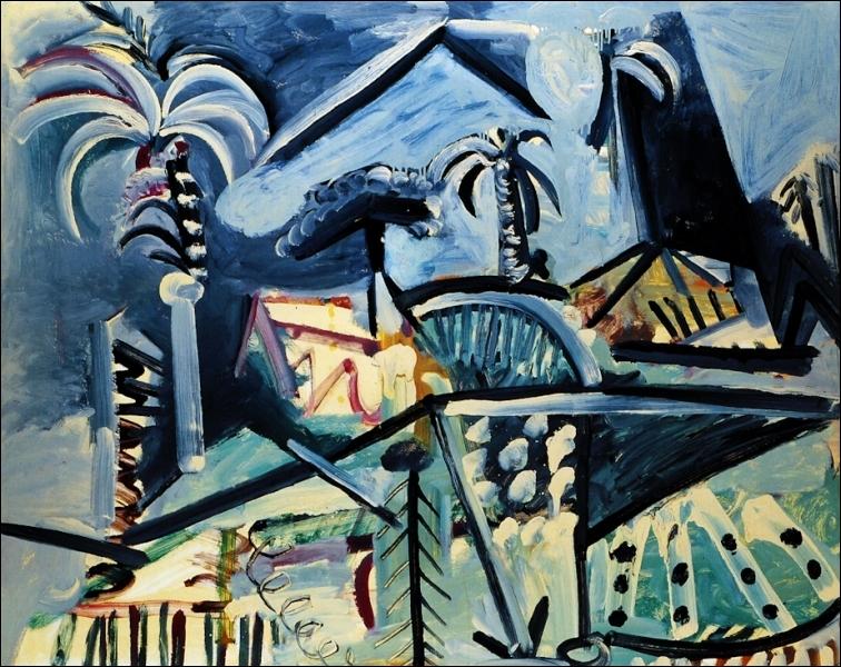 Est-ce Picasso qui a peint Mougins ?