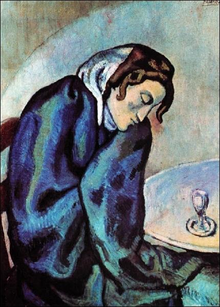 Est-ce Picasso qui a peint La buveuse assoupie ?