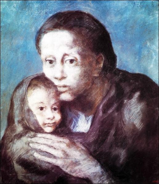 Est-ce Picasso qui a peint Les déshérités ?