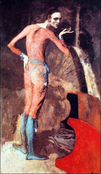 Est-ce Picasso qui a peint L'acteur ?