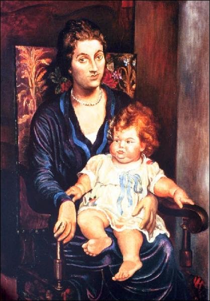 Est-ce Picasso qui a peint Mme Rosenberg et sa fille ?