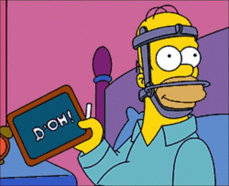L'expression d'agacement «D'oh ! » d'Homer figure-t-elle dans l'Oxford English Dictionary ?