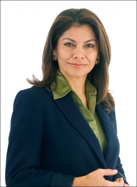 Présidente du Costa-Rica depuis mai 2010, elle a le même nom qu'un joli animal à fourrure. Qui est-elle ?