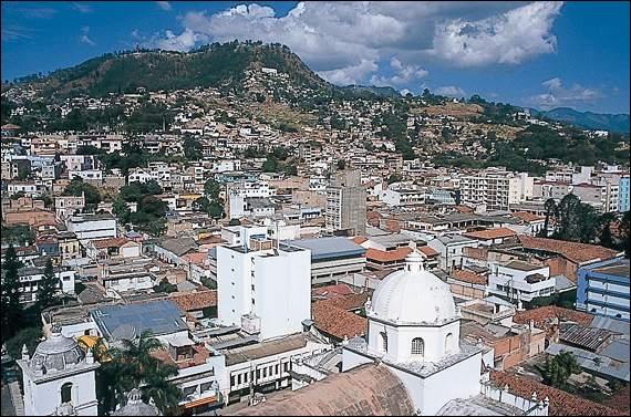 Quelle est la capitale du Honduras ?
