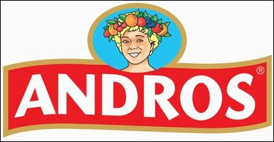 Quel est le slogan de la marque  Andros  ?