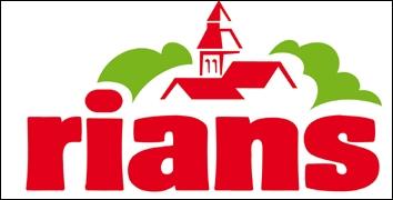Quel est le slogan de la marque  Rians  ?