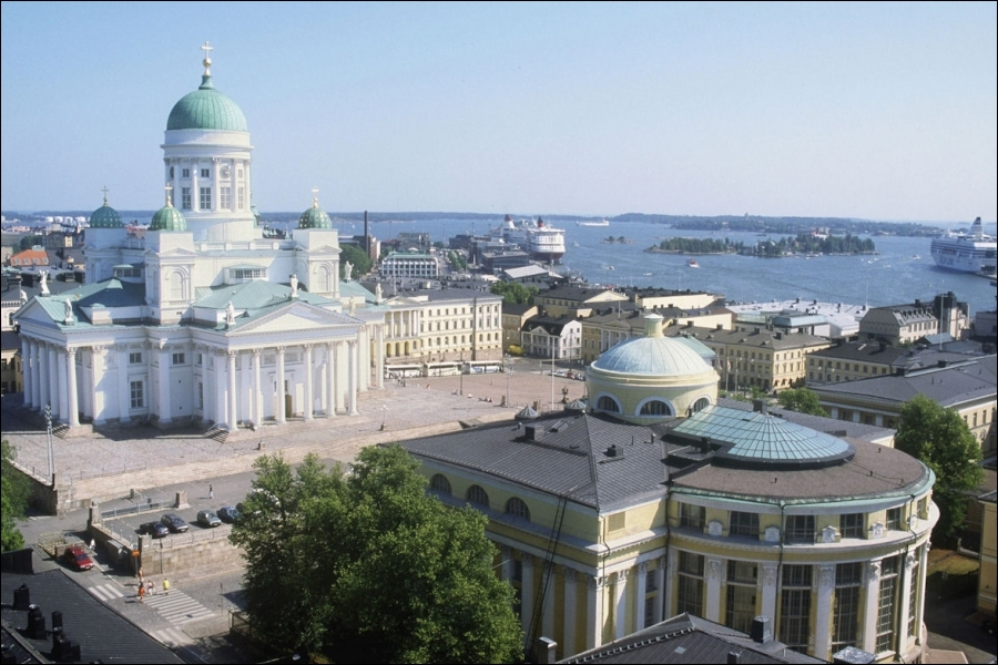 De quel pays Helsinki est-elle la capitale ?