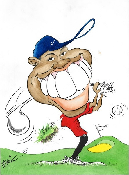 Qui est ce golfeur américain ?