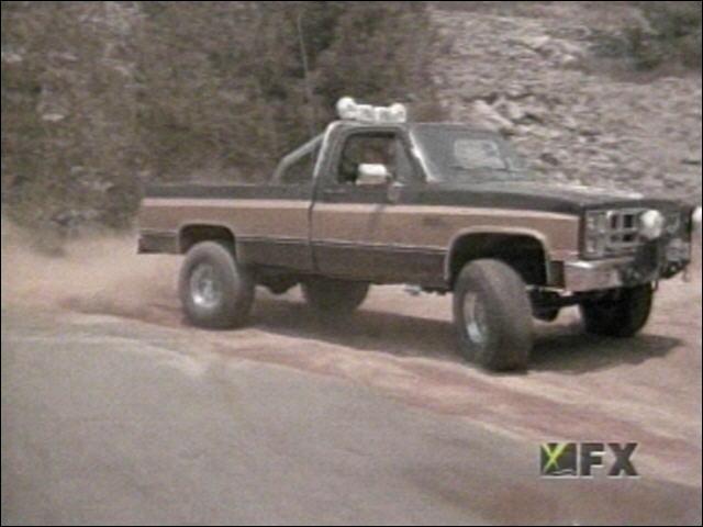 On peut voir ce pick-up dans :