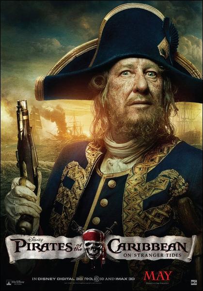 Que contient la jambe de bois du capitaine Barbossa ?