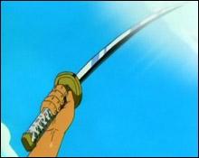 Comment s'appelle le sabre blanc de Zoro ?