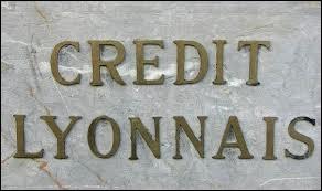 Que se passe-t-il pour le Crédit Lyonnais en 1863 ?