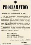 En 1860, l'empereur intervient dans l'unification italienne. Quels territoires gagne-t-il par conséquent ?
